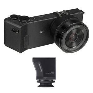 Sigma dp1 Quattro Digital Camera and LVF-01 Viewfinder Kit