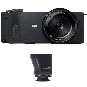 Sigma dp2 Quattro Digital Camera and LVF-01 Viewfinder Kit