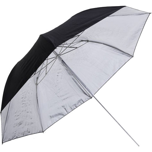 "Phottix Double-Small 36"" Folding Reflective Umbrella (Black /Silver)"