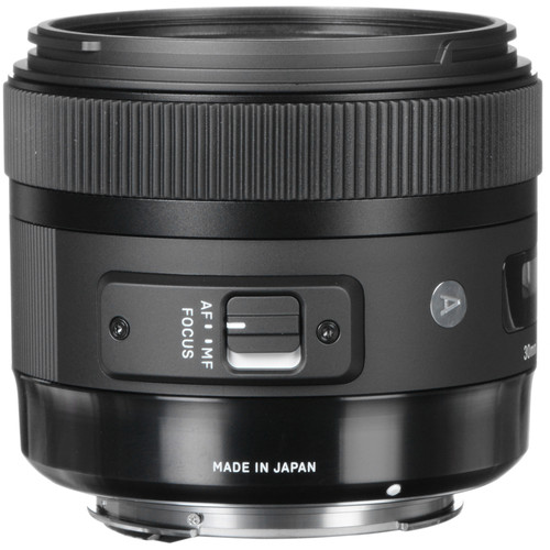 Sigma 30mm f/1.4 DC HSM Art Lens